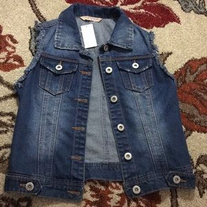 Jeans vest Sz S